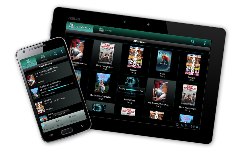 Enterprise client –  User interface for VOD services